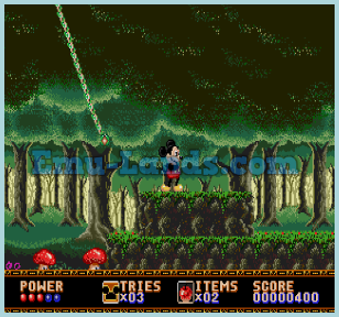Castle of Illusion Starring Mickey Mouse на sega