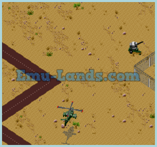 Desert Strike на sega