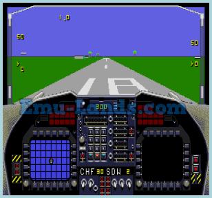 F-22 Interceptor на sega
