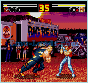 Fatal Fury 2 на sega