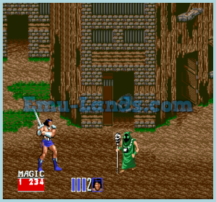 Golden Axe 2 на sega