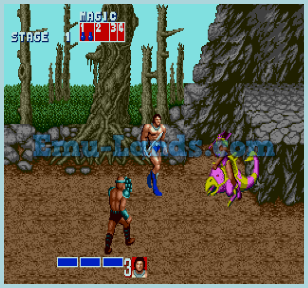 Golden Axe на sega