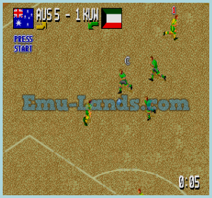Head-on-Soccer на sega