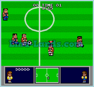 High School Soccer: Kunio Kun на sega