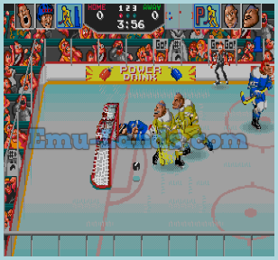 Hit the Ice на sega