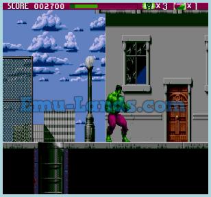 Incredible Hulk на sega