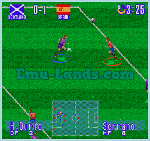 International Superstar Soccer Deluxe на sega