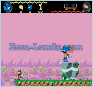 Itchy and Scratchy Game на sega