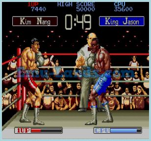 James Buster Douglas Knock Out Boxing на sega