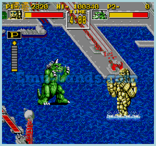 King of the Monsters на sega
