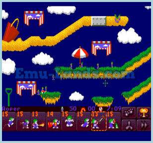 Lemmings 2 на sega