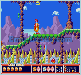 McDonald's Treasure Land Adventure на sega