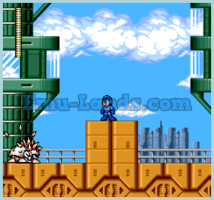 Megaman: The Wily Wars на sega