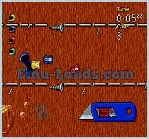Micro Machines 2: Turbo Tournament на sega