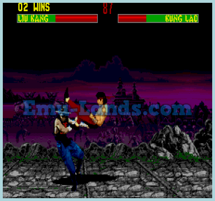 Mortal Kombat 2 на sega