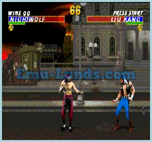 Mortal Kombat 3  на sega