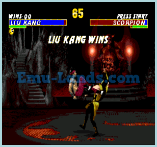 Mortal Kombat 3 Ultimate  на sega