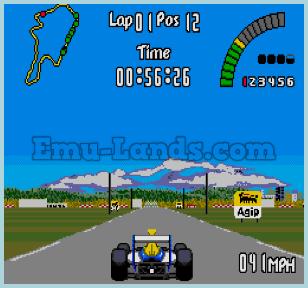 Nigel Mansell's World Championship на sega