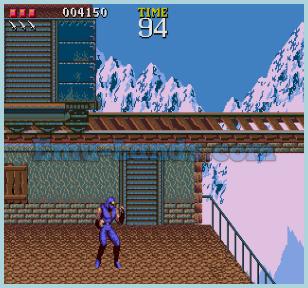 Ninja Gaiden (Beta) на sega