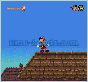 Pinocchio на sega