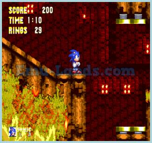 Sonic the Hedgehog 3 на sega