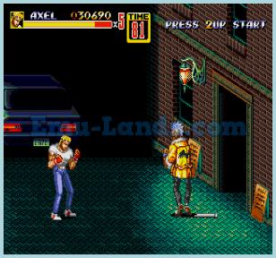 Streets of Rage 2 на sega
