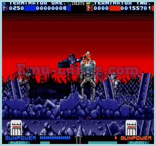 Terminator 2 the Arcade Game на sega