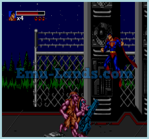 The Death and Return of Superman на sega
