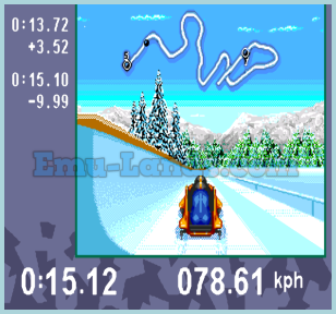 Olympic Winter Games-Lillehammer 94 на sega