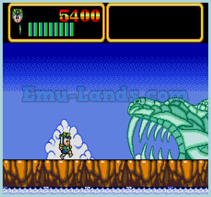 Wonder Boy in Monster World 3 на sega