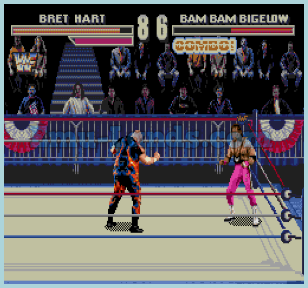 WWF WrestleMania: The Arcade Game на sega