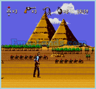 Young Indiana Jones: Instrument of Chaos на sega