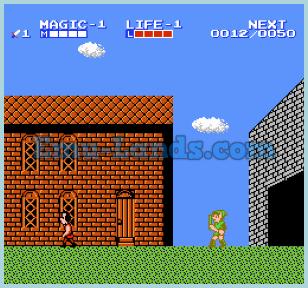 Zelda 2 на dendy