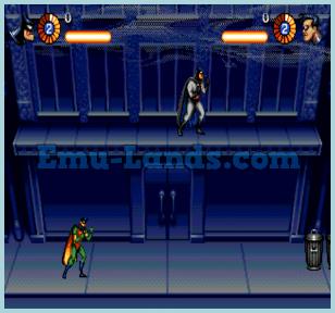the adventures Batman and Robin на sega