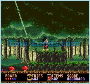 Castle of Illusion Starring Mickey Mouse на sega