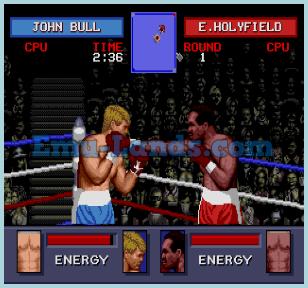 Evander Holyfield's Real Deal Boxing на sega