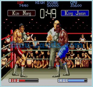 James Buster Douglas Knock Out Boxing на sega