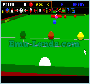 Jimmy White's Whirlwind Snooker на sega