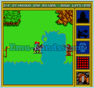 King's Bounty на sega