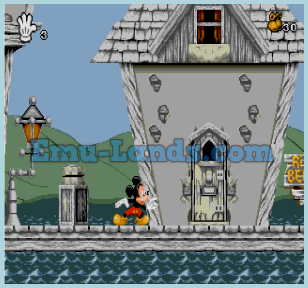 Mickey Mania на sega