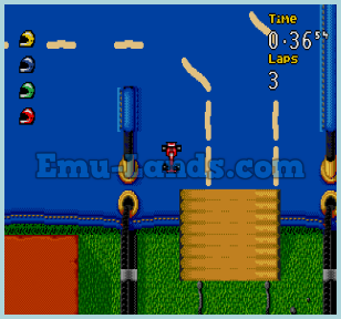 Micro Machines: Turbo Tournament 96 на sega