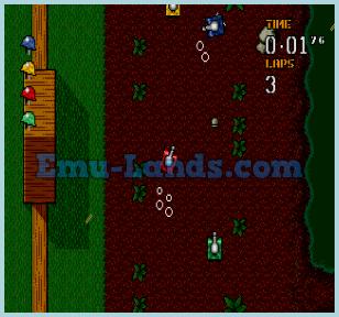 Micro Machines Military: It's a Blast! на sega