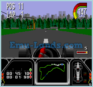 Newman: Haas IndyCar Racing на sega