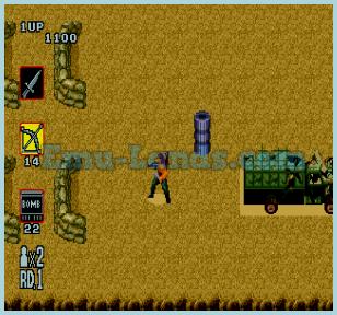 Rambo 3 на sega