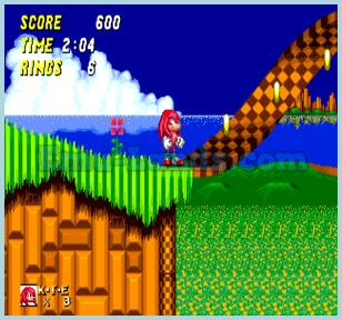 Sonic 2 and Knuckles на sega