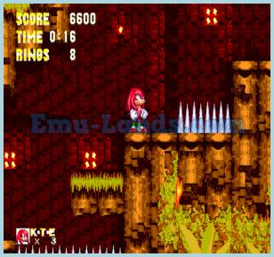 Sonic 3 and Knuckles на sega