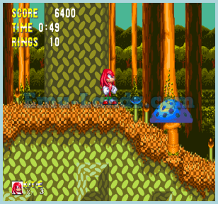 Sonic and Knuckles на sega