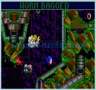 Sonic Spinball на sega