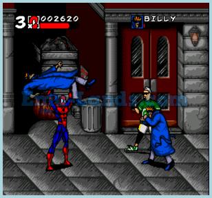 Spider-Man and Maximum Carnage на sega