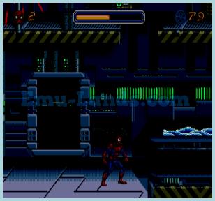 Spider-Man The Animated Series на sega